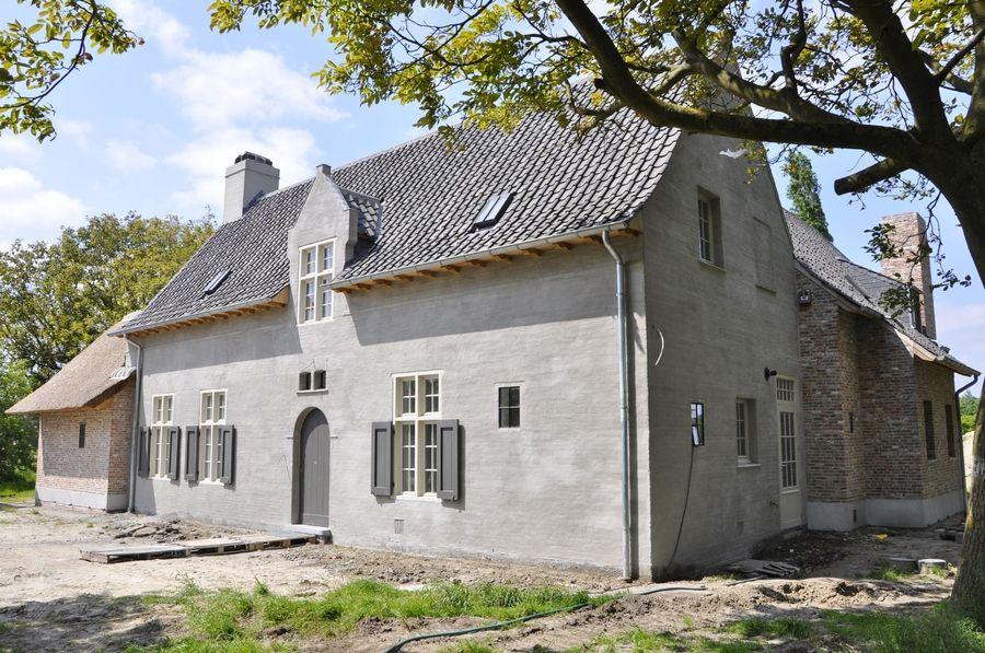 Landelijke woning belgische bouwstijl pinterest for Huizen moderne stijl