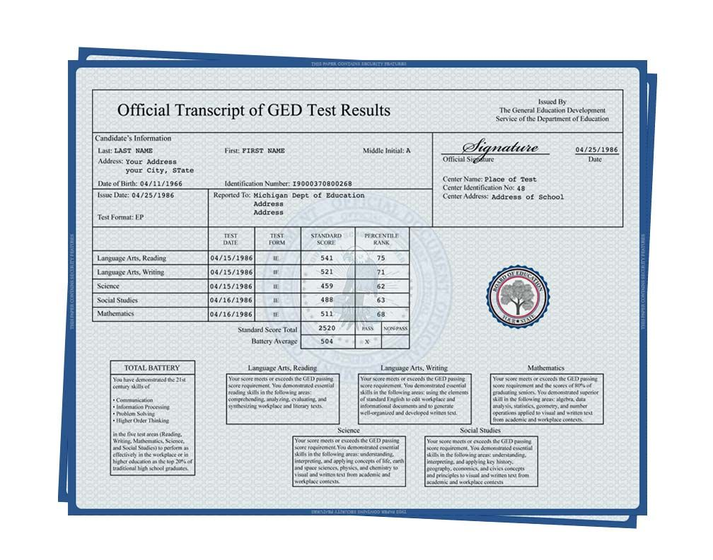Fake Ged Transcript Certificate Templates Fake High School Diploma Business Template Free fake college transcript template
