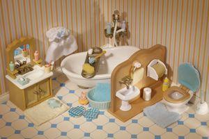 Country Bathroom Set Sylvanian Families Country Bathroom Bathroom Sets