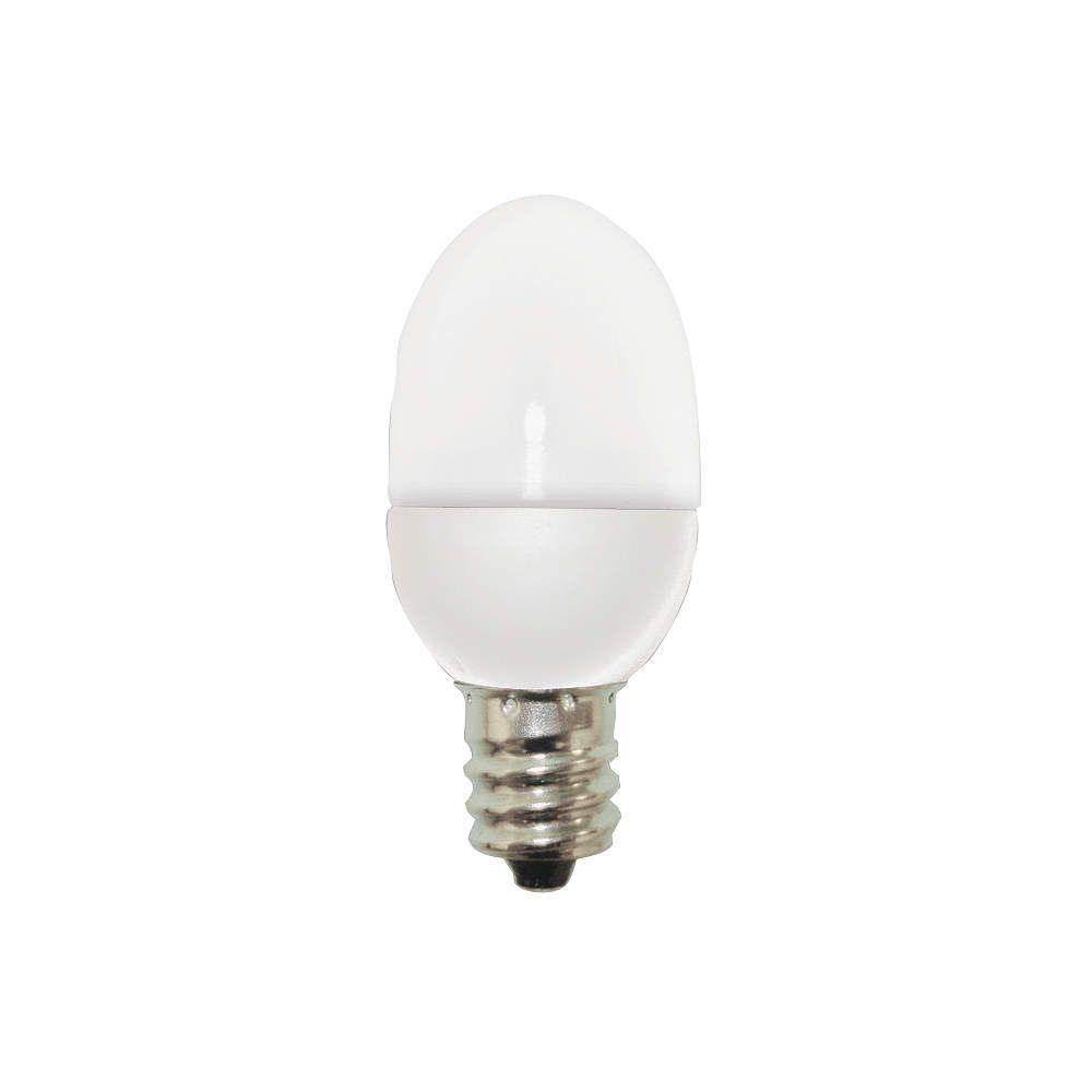 Ge Lighting Led Light Bulb C7 2700k Soft White Pk2 Led Lamps And