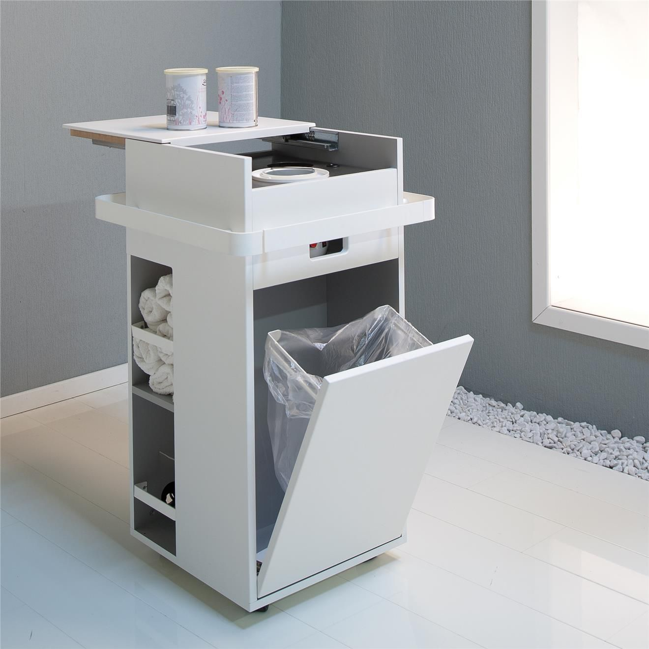 Gharieni MLX Wax Trolley - ideal for Grooming Supplies   More   #estheticianroomideas