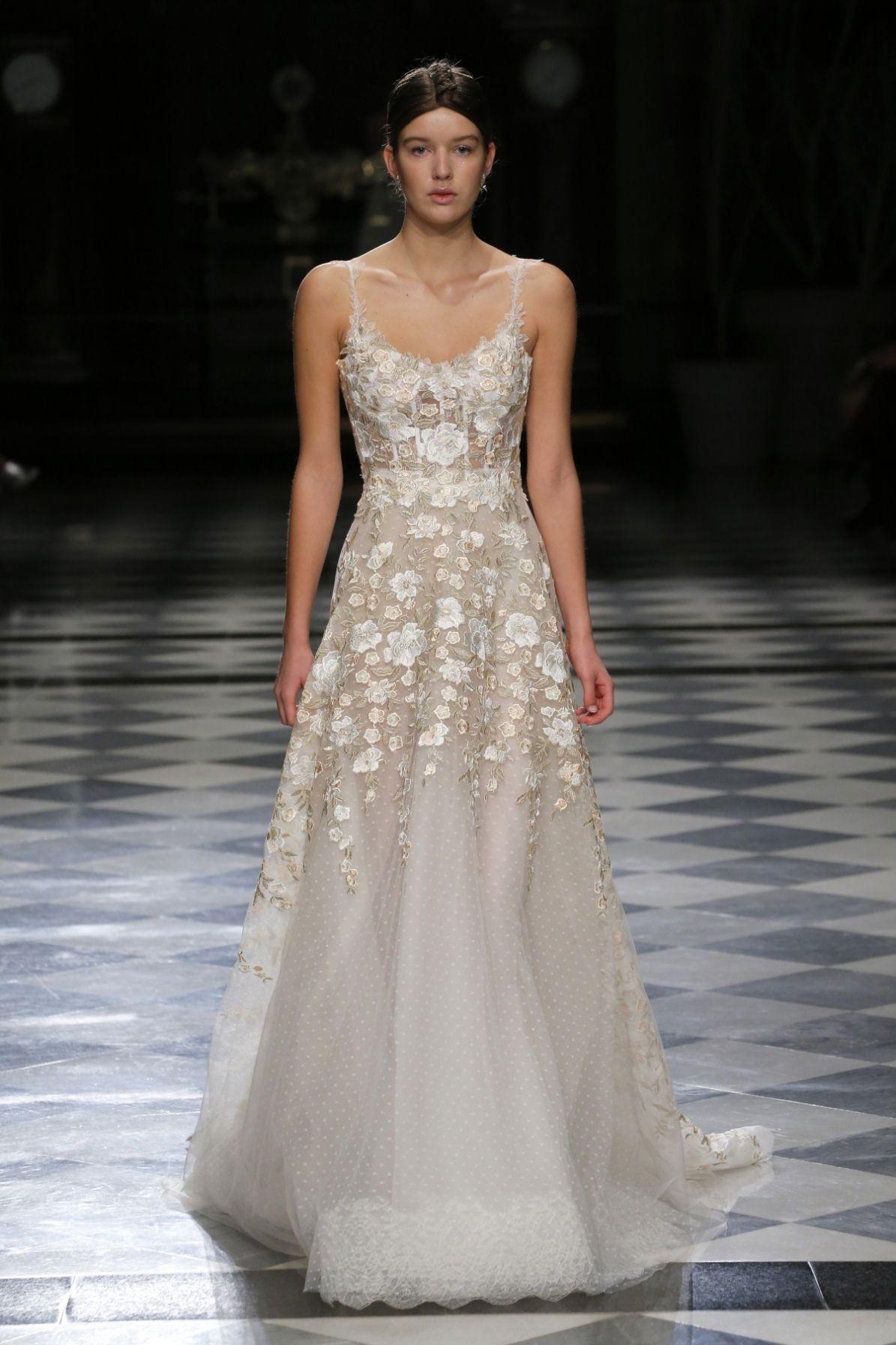 Custom made wedding dress  MAUPAS haute couture bride dresses romantic bride dresses high