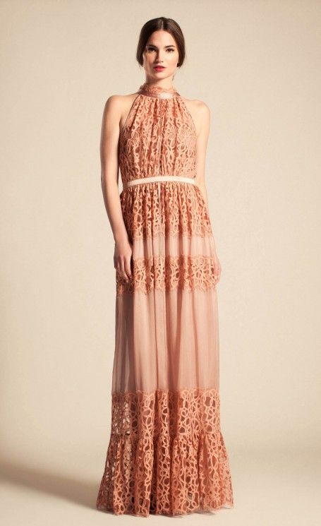 Long Lily Graphic Dress   Temperley London