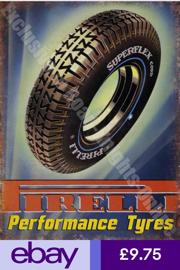 Vintage Pirelli Tires Lapel Pin