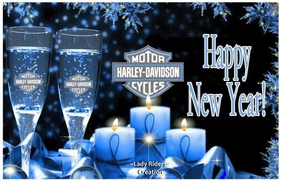 happy new year happy new year harley davidson
