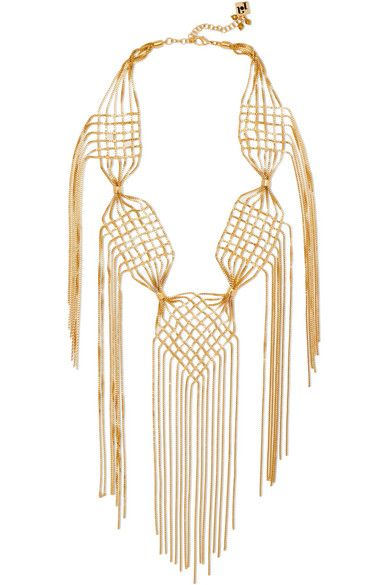 Aquilone Gold-plated Necklace - One size Rosantica nJJsjthhn