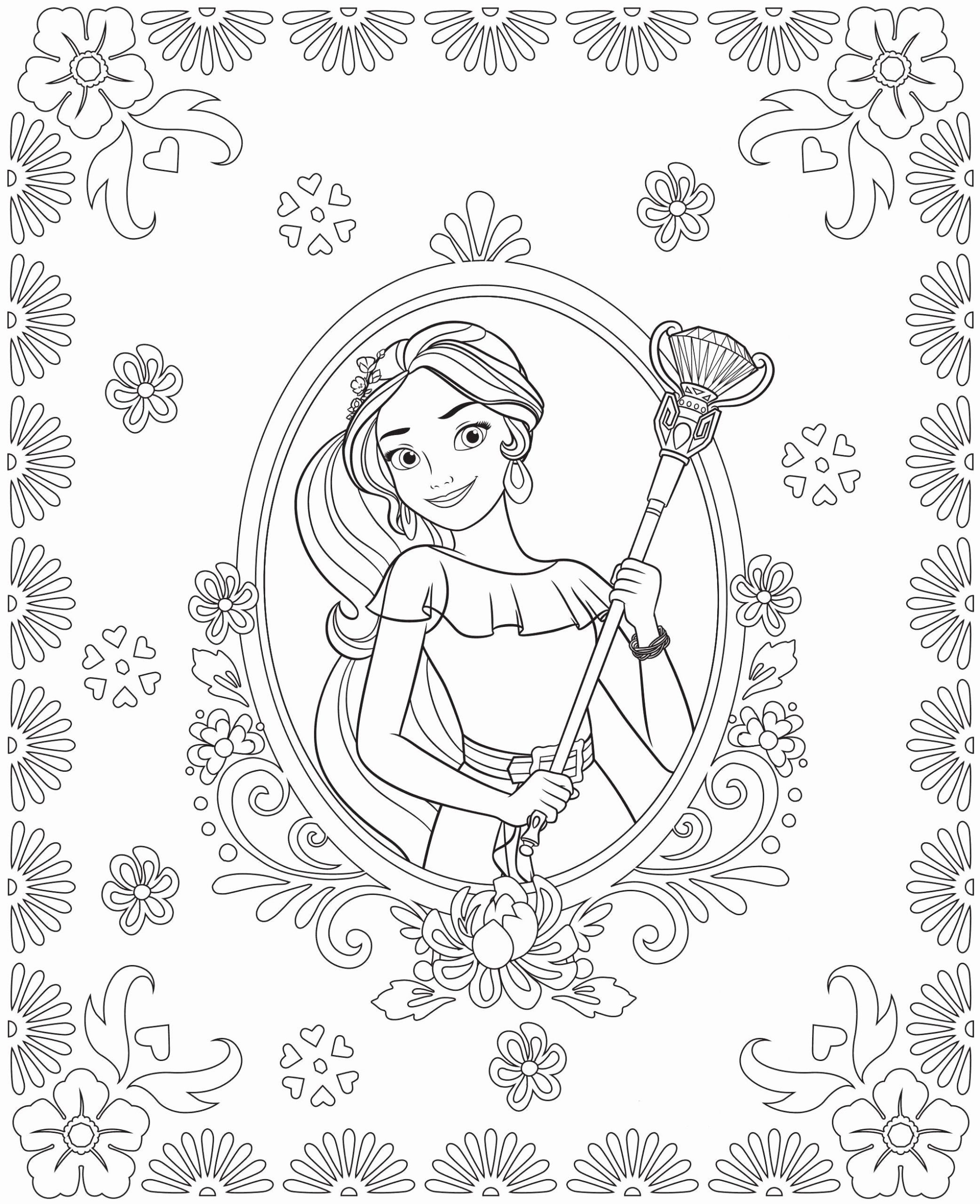 Elena Of Avalor Coloring Book Unique Kids N Fun Disney Coloring Pages Cartoon Coloring Pages Coloring Pages