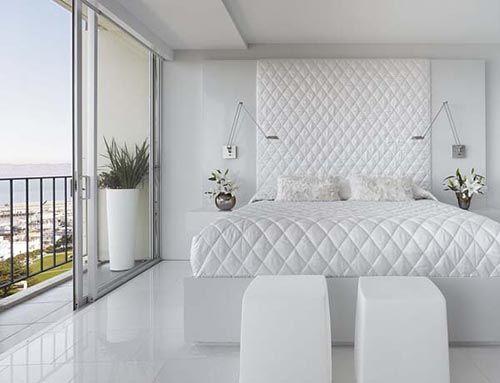 Moderne Witte Slaapkamer : Witte slaapkamers zijn niet saai furnishing white