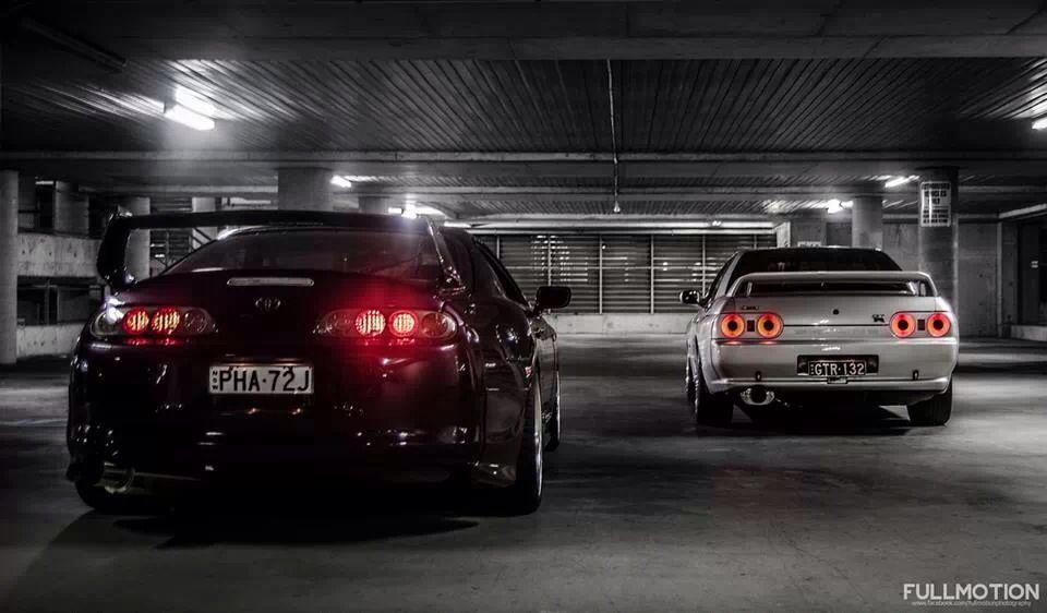 Toyota Supra Nissan Skyline Gtr R32 Nissan Skyline Gtr R32 Toyota Supra Nissan Skyline