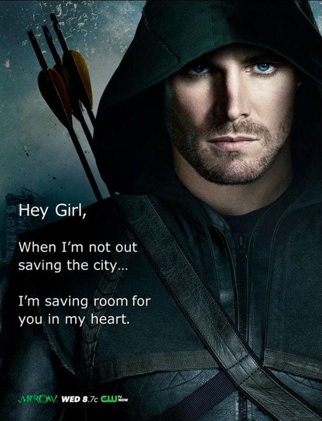 HAHAHAHAH!!! #GreenArrow #OliverQueen