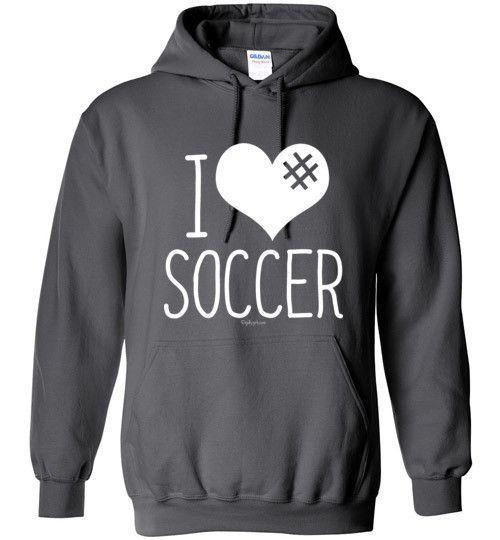 Soccer Hashtag Hoodie YjtG6N
