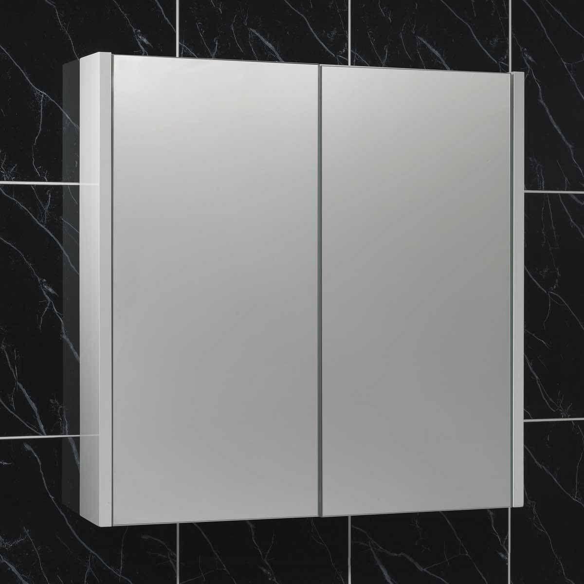 Bathroom Mirrors Victoria Plumb white 2 door mirror cabinet - victoria plumb | main bathroom