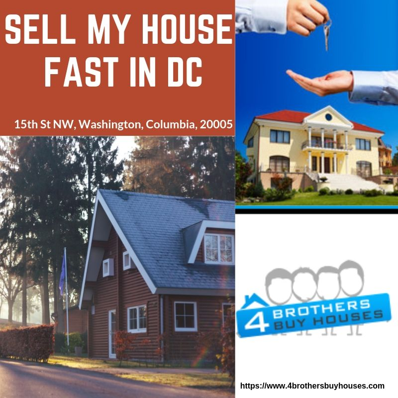 "Do you ever ask yourself, ""How do I sell my house fast in DC"