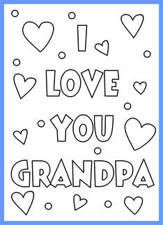 Happy Birthday Grandpa Coloring Pages Printable In 2020 Happy Birthday Grandpa Birthday Coloring Pages Fathers Day Coloring Page
