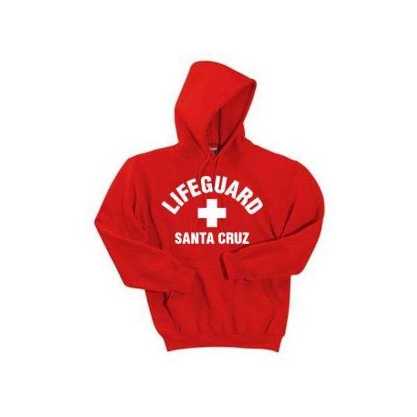 venta en línea zapatos casuales mayor selección Santa Cruz Lifeguard Unisex Sweatshirt ($45) ❤ liked on ...