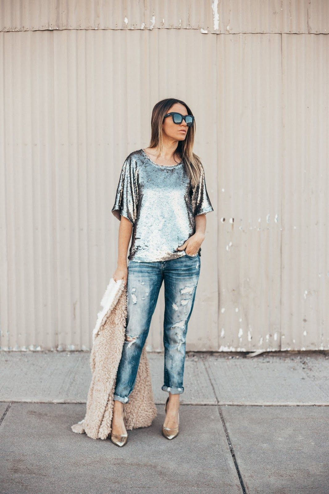 6 Sparkly Outfits for New Year's Eve (Without Being Crazy