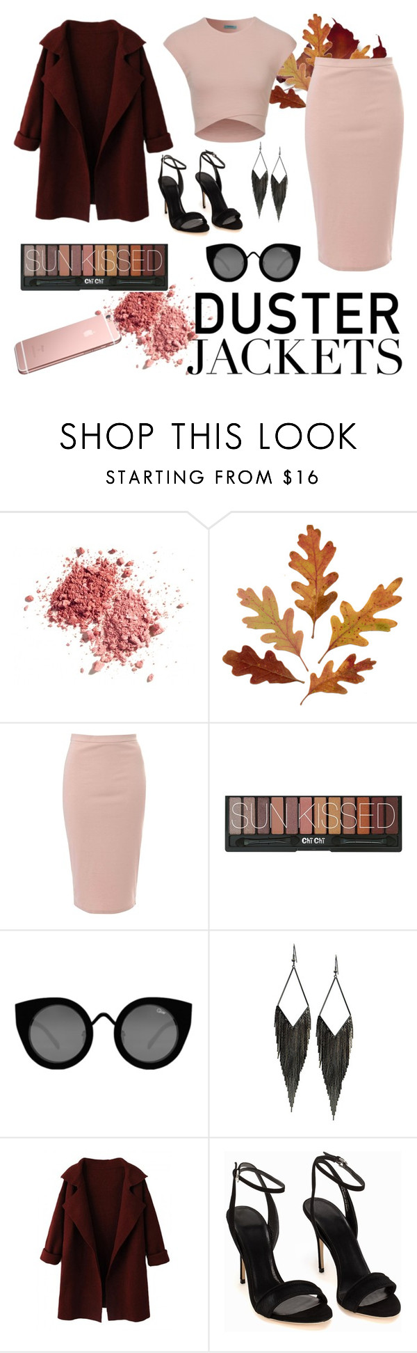 """""""Duster Jackets Contest"""" by janaehallinan ❤ liked on Polyvore featuring Glamorous, Quay, GUESS, polyvoreeditorial, PolyvoreMostStylish and dusterjacket"""