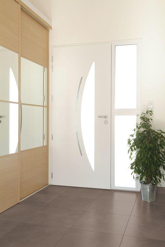 Porte D 39 Entr E Aluminium Zilten Mod Le Cotim 12 Vue Int Rieure Portes Pinterest Portes