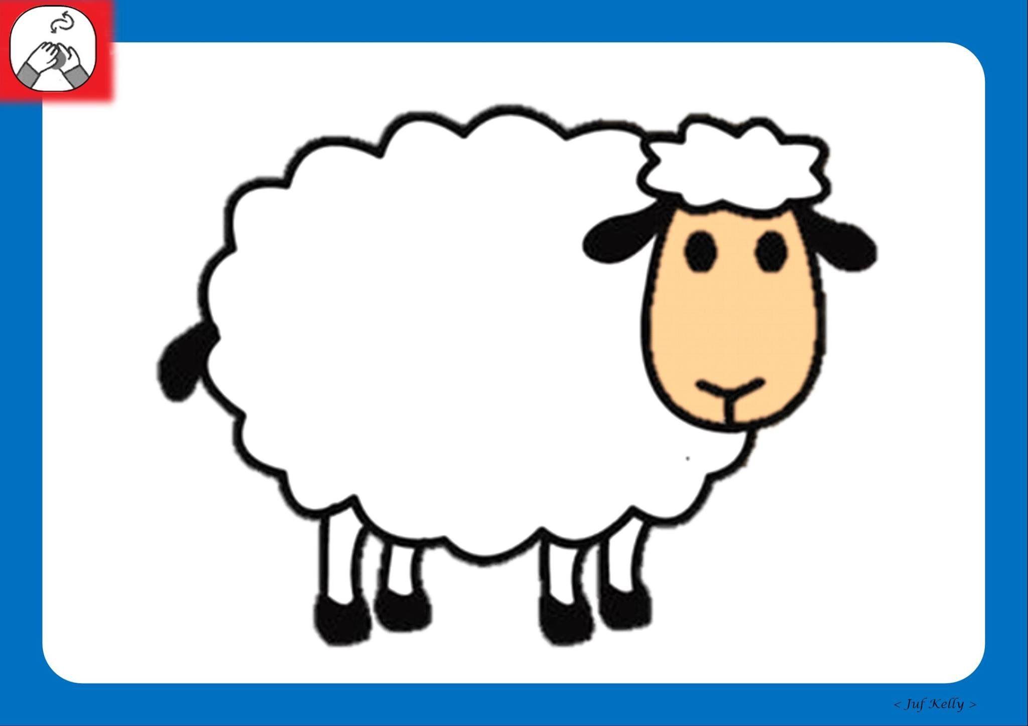 Pin Van Katleen De Keyser Op Boerderij Farm La Finca Schapen Knutselen Cartoon Tekeningen Schapenkunst