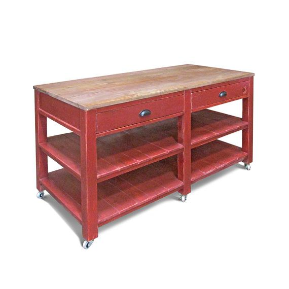 The Connor Is Our Rustic Kitchen Island Work Table And Inspired By Tables