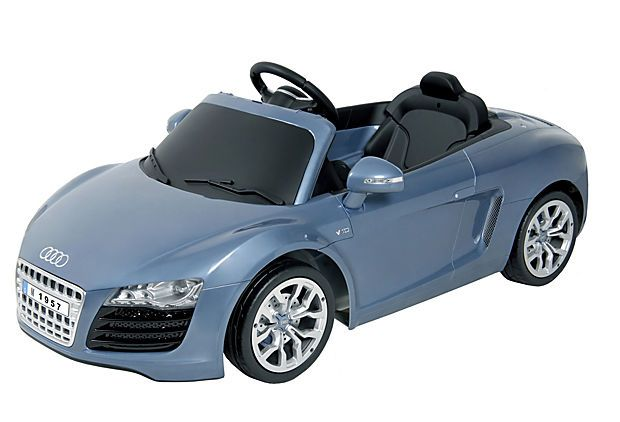 audi r8 spyder ride on destroys the little tikes red and yellow car i had as a kid for. Black Bedroom Furniture Sets. Home Design Ideas