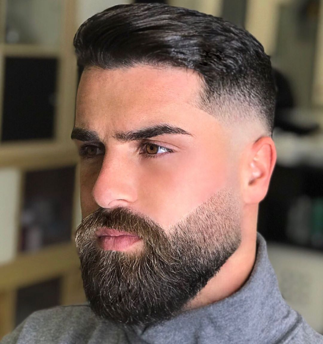 Timeless 50 Haircuts For Men 2019 Trends Stylesrant Beard Styles Short Beard Fade Faded Beard Styles