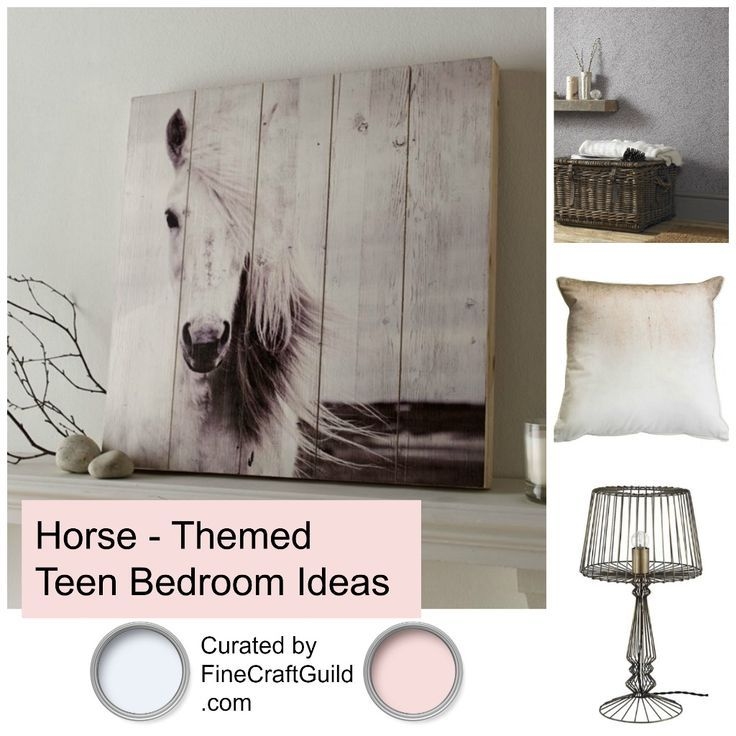 Horse Themed Bedroom Decorating Ideas Part - 34: Teen Girls Bedroom Ideas. Horse Bedroom DecorHorse Themed ...