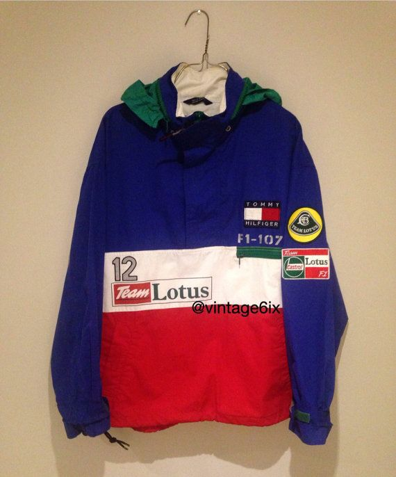 bfbd3cfd77a Vintage Tommy Hilfiger Lotus Jacket Formula 1 ferrari  vintagetommyhilfiger   vintagetommy  Tommyhilfiger  tommylotus…