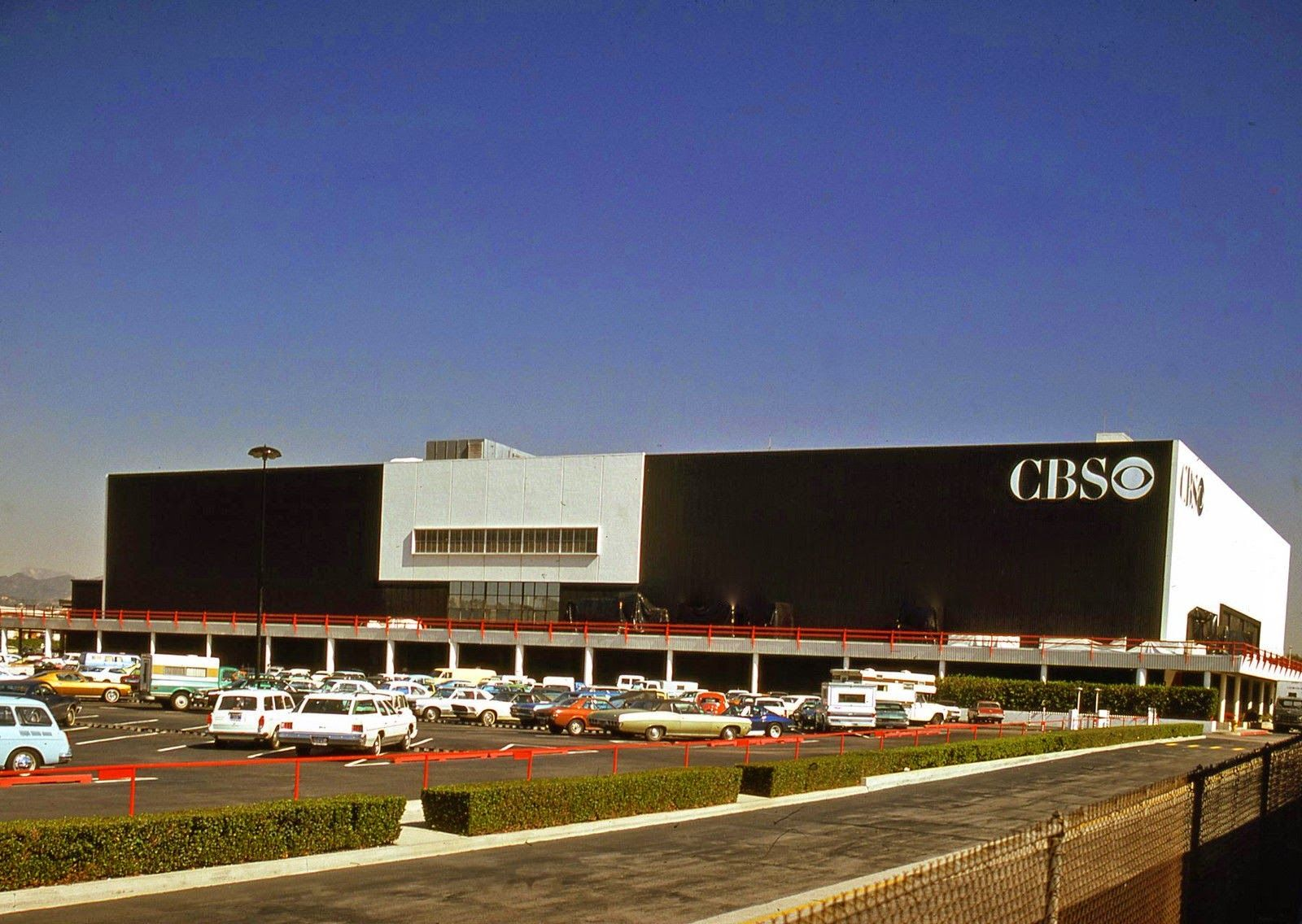 Vintage CBS Studios, Los Angeles, CA Los angeles, San