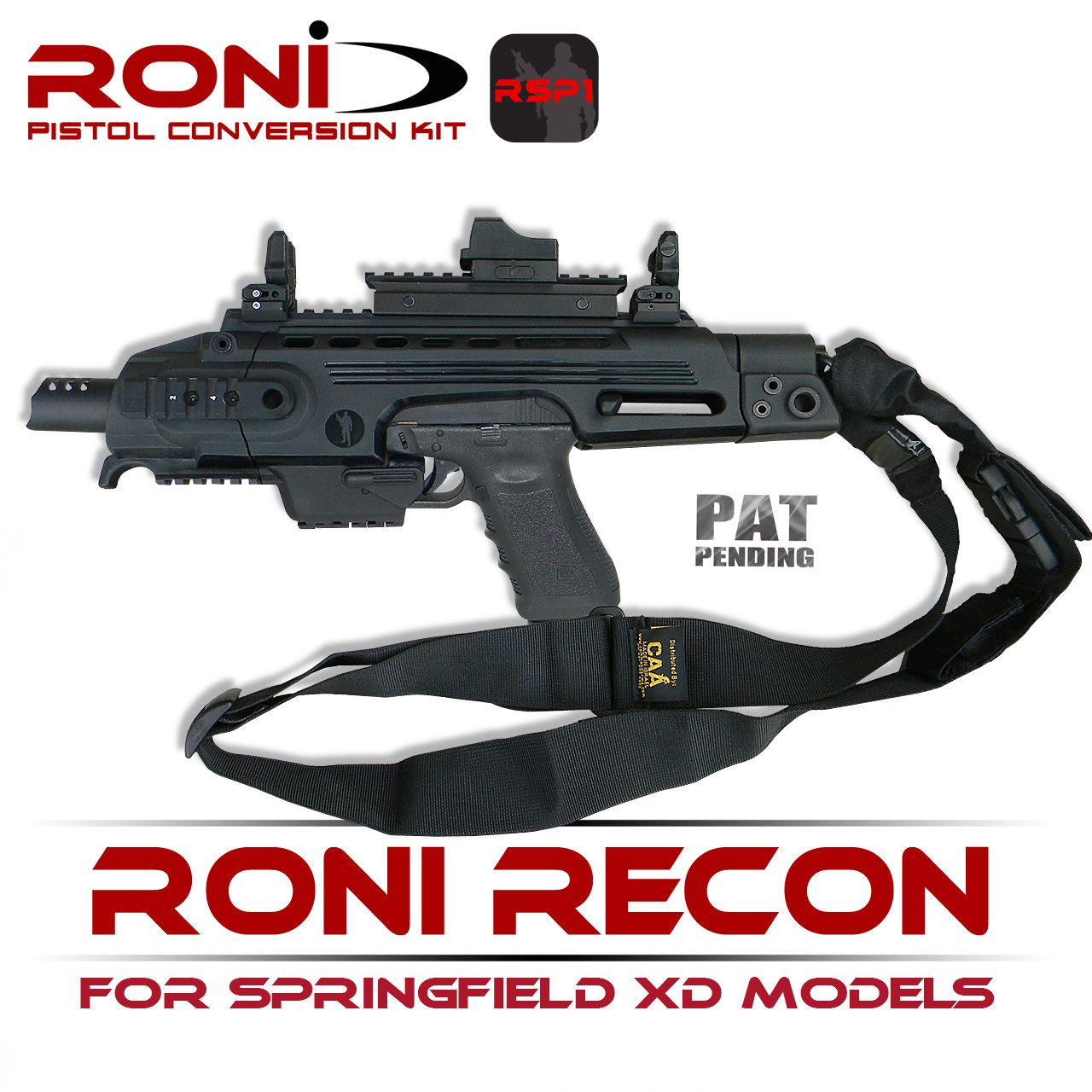 RONI RECON for Springfield XD Models   RONIRSP1 - Command
