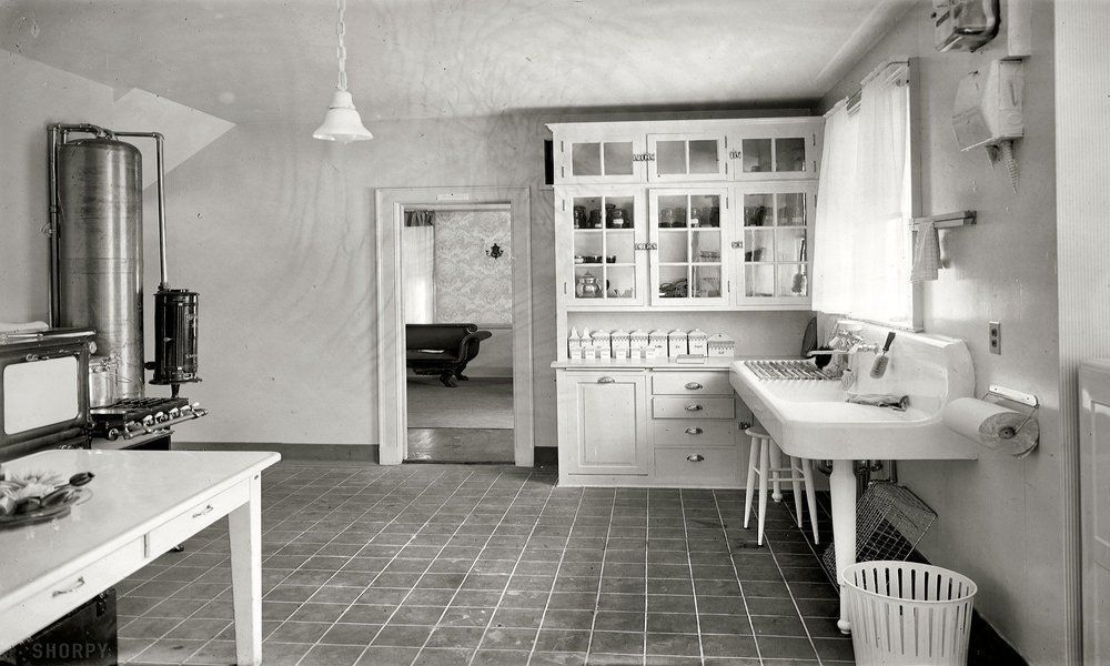 The modern movement was just beginning in the 1920 39 s with for Modern 1920 s kitchen