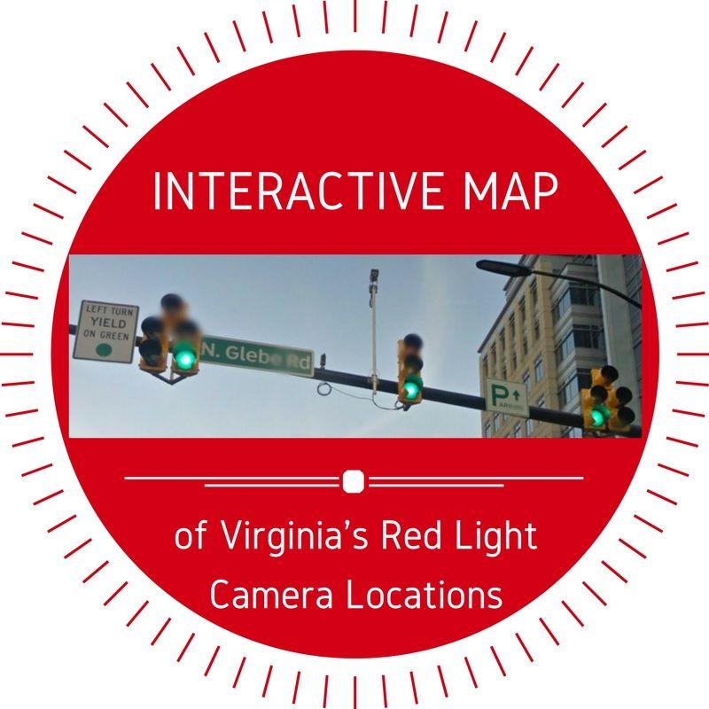 Virginia Red Light Cameras: Interactive Map Of Locations + Ticket FAQs