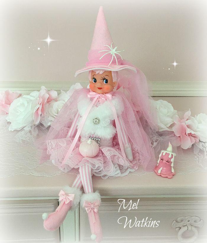Pink Halloween Elf <3