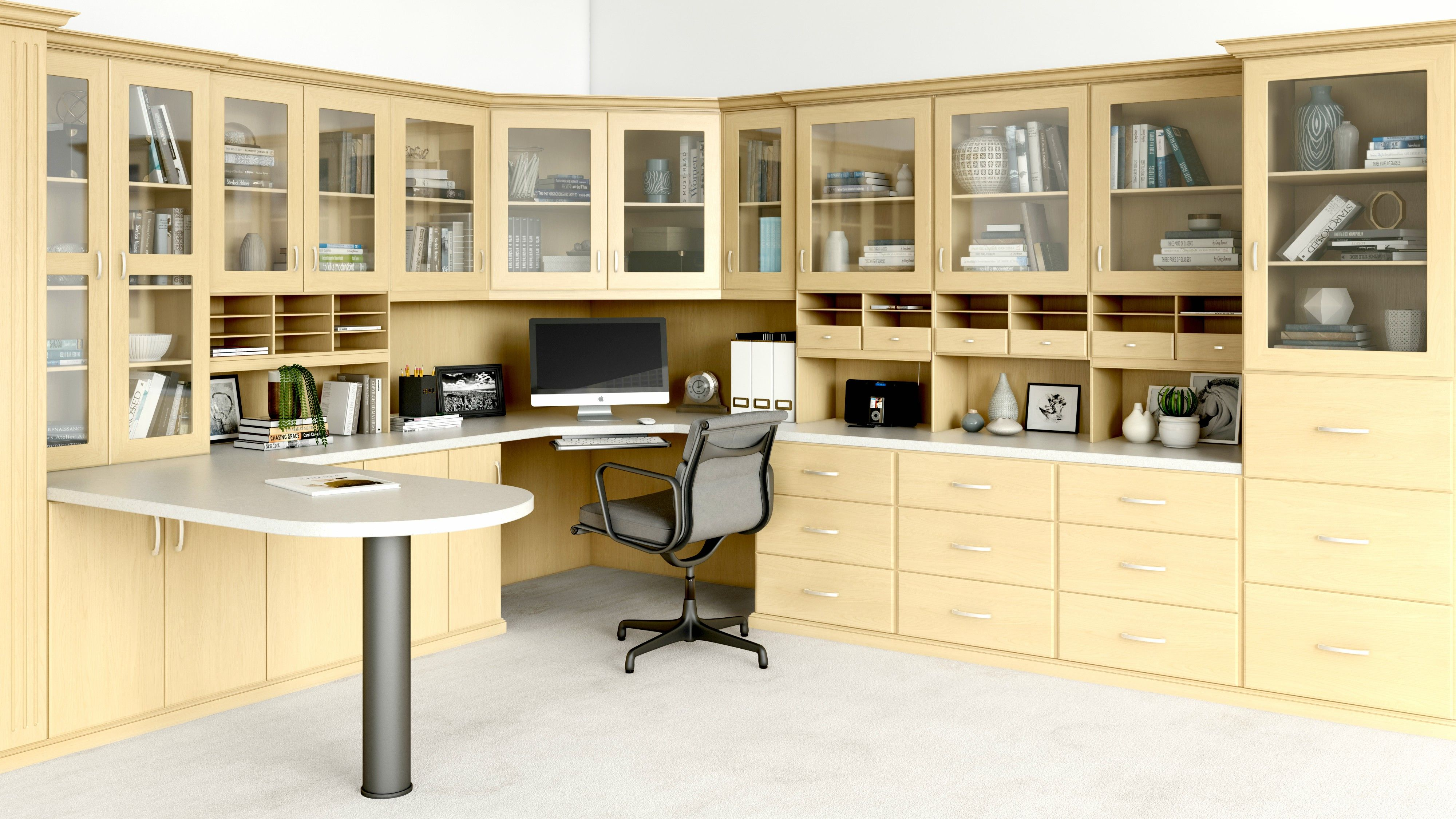 Home Office Cabinets And Organization Products With Images Home Office Organization Closet World Home