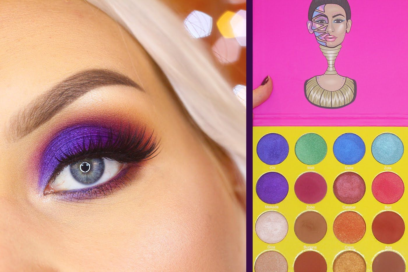 99cbe677fbd Colorful Fall Makeup - Juvia's Place The Masquerade Palette Tutorial ...