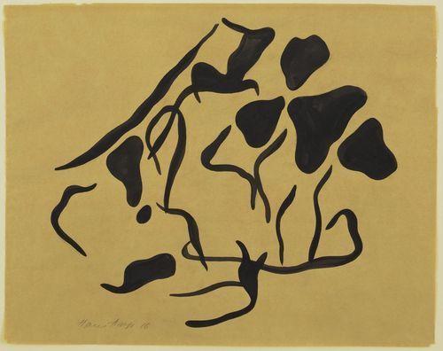 Jean Hans Arp. Automatic Drawing, 1917-1918 | Jean arp, Arte ...