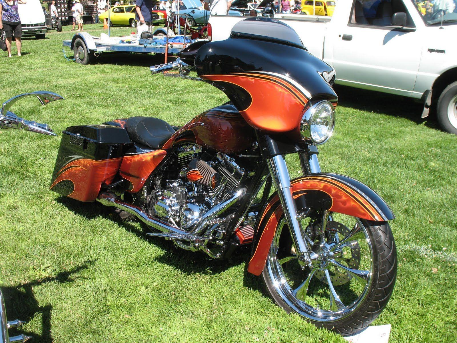 Weakened Warrior July 2010 Harley Bagger Custom Baggers Bagger