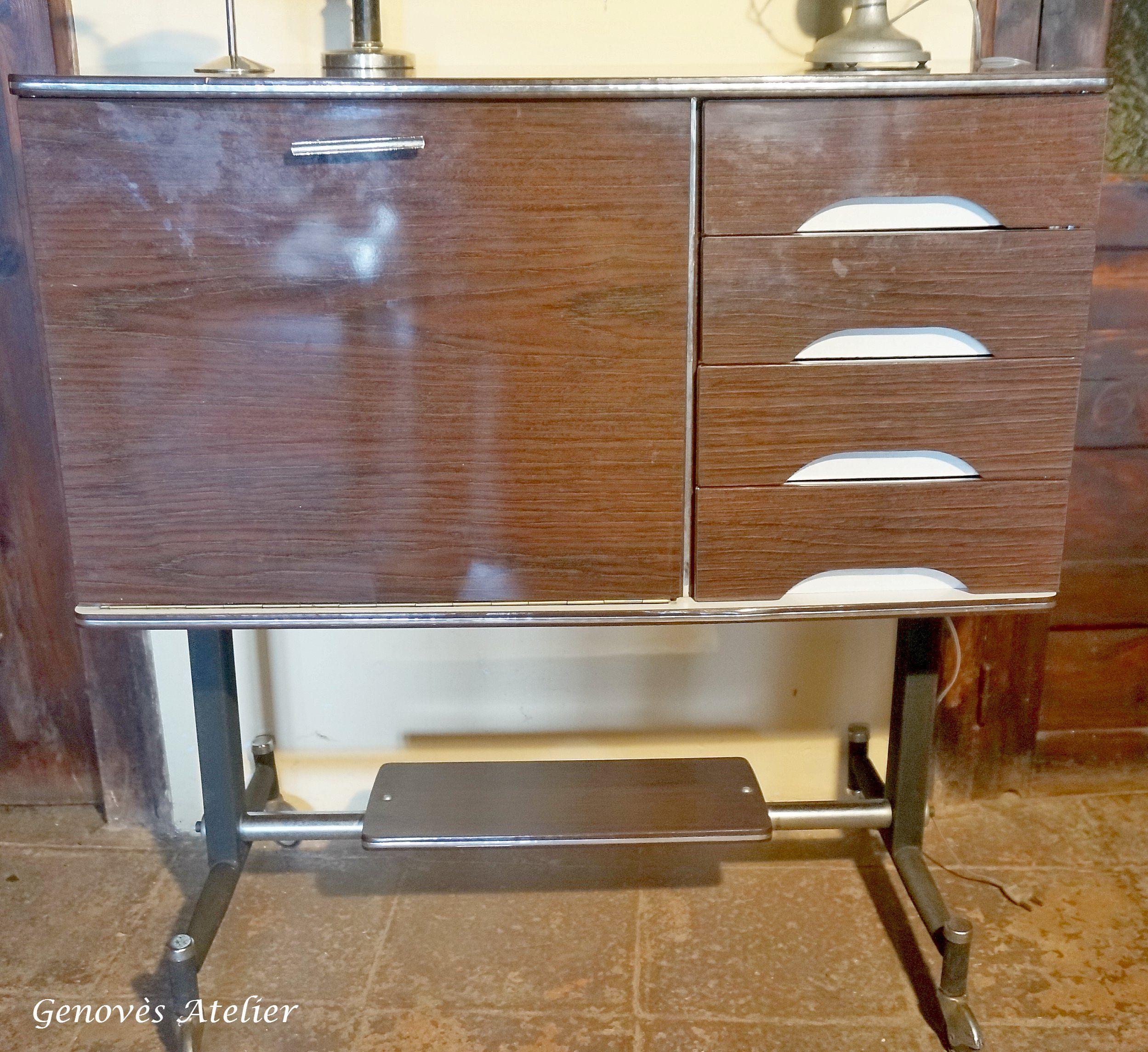 Antiguo Mueble Bar Retro Genov S Atelier Mobiliario Retro  # Muebles Cebollero