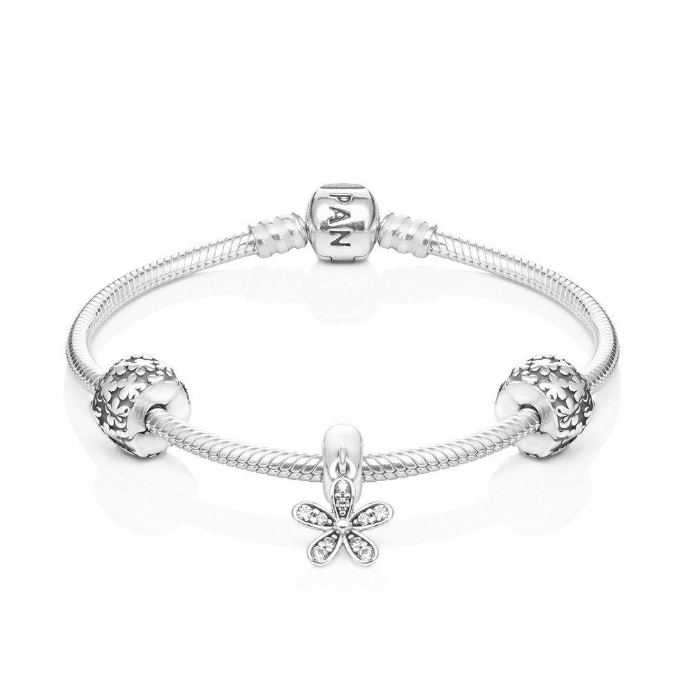 pandora daisy bracelet