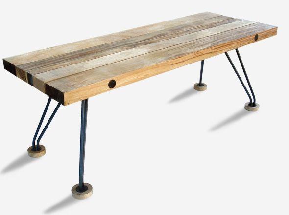 banc table | décoration intérieure pièce à vivre | pinterest