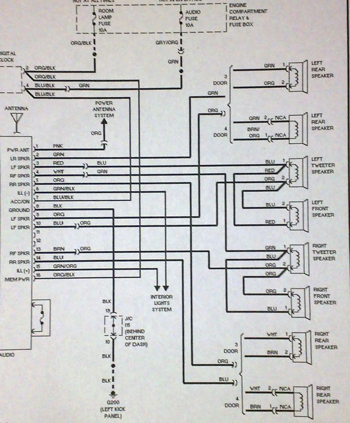 Hyundai Accent Stereo Wiring Diagram Hyundai Accent Hyundai Diagram