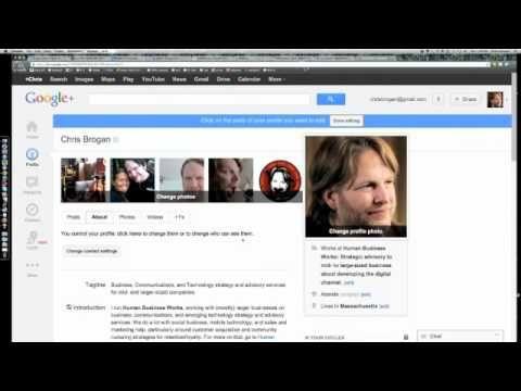 Social Media May Book Club Webinar: Google+ For Business