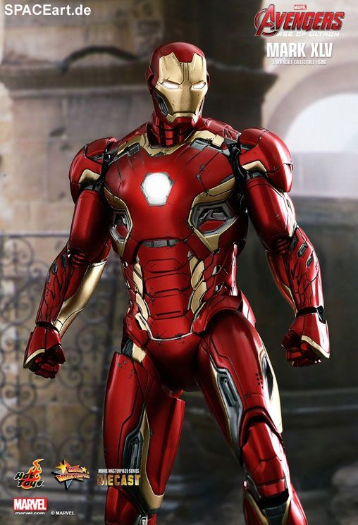 The Avengers 2: Iron Man Mark XLV - DieCast, Deluxe-Figur (voll beweglich) ... https://spaceart.de/produkte/tav013.php