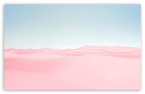 Pink Desert Blue Sky Hd Wallpaper For 4k Uhd Widescreen Desktop Smartphone Pink Wallpaper Desktop Pink Wallpaper Laptop Pink Wallpaper Backgrounds