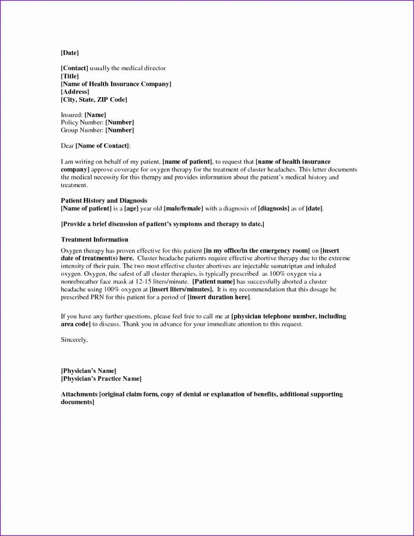 Sample Legal Appeal Letter Format For Unemployment Insurance