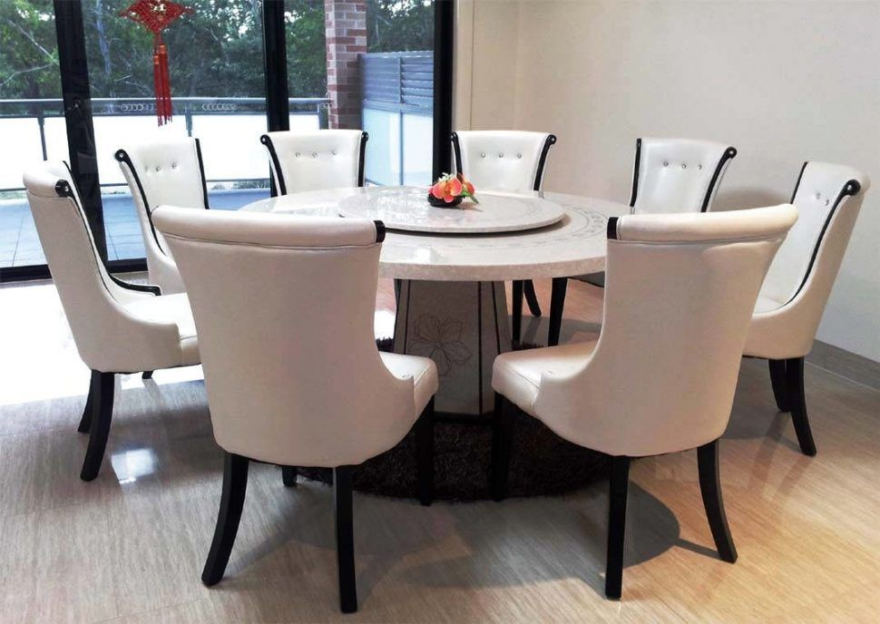 Beautiful Round Dining Table Set For 8 In 2020 Dining Table