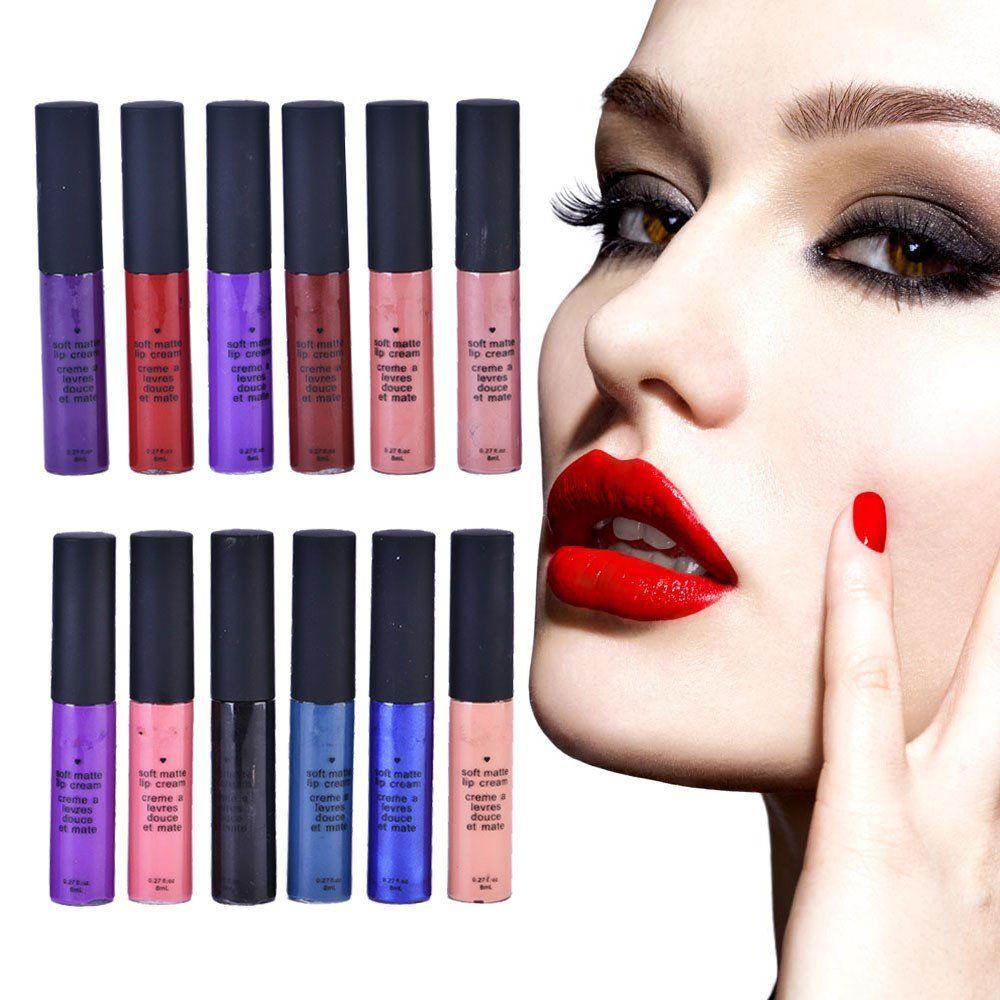 Liquid Matte Long Lasting Waterproof 12 Colors Velvet Selena Lipstick