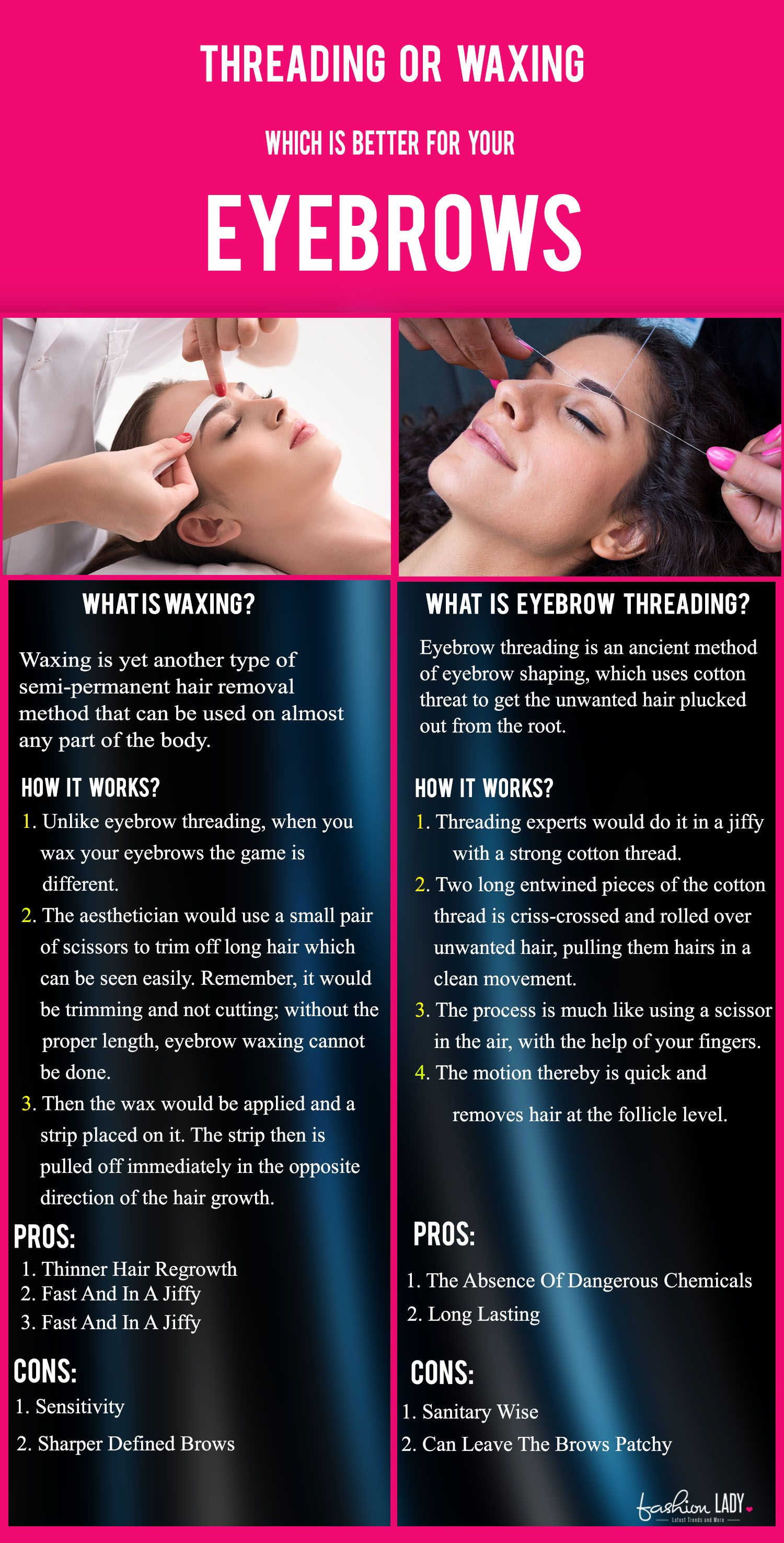 Threading Or Waxing Which Is Better For Your Eyebrows Make Up