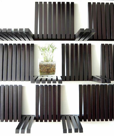 les 25 meilleures id es de la cat gorie meubles pliants sur pinterest strapontin mobilier. Black Bedroom Furniture Sets. Home Design Ideas
