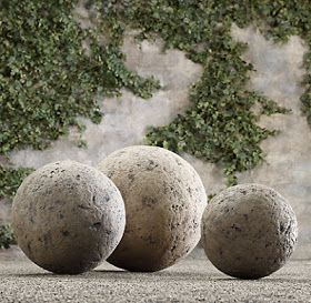 Garden Balls Decorative My Sweet Savannah ~Thrifty Thursday~Working With Concrete  Diy